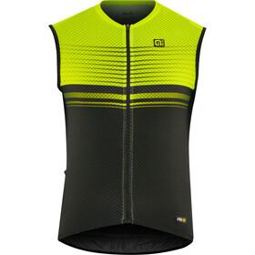 Alé Cycling Graphics PRR Slide - Maillot sans manches Homme - jaune/noir